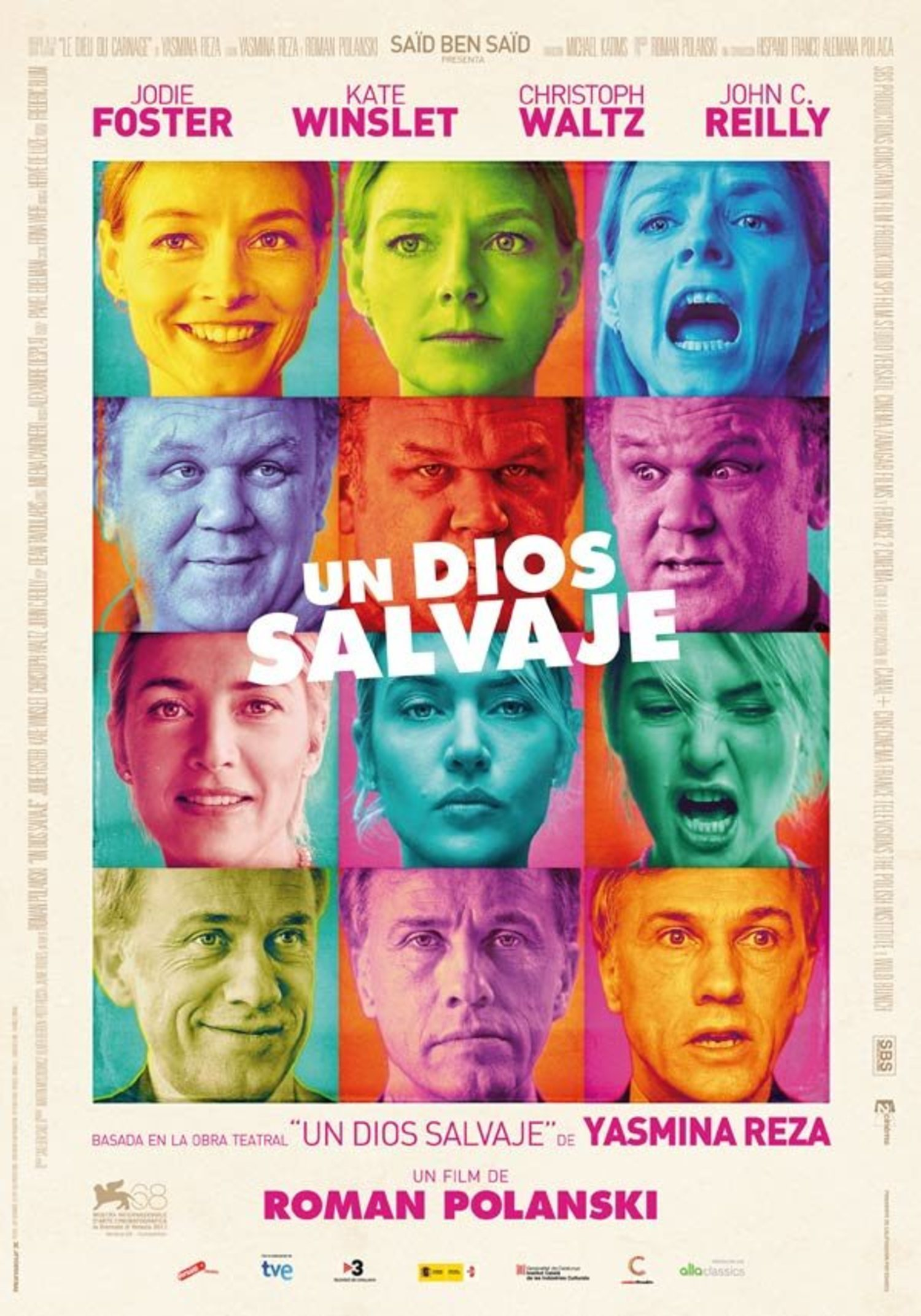 El poster de 'Un Dios Salvaje'