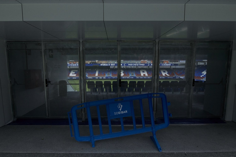 Ipurua fue el último estadio donde se disputó un partido de Liga. Fue a puerta cerrada.