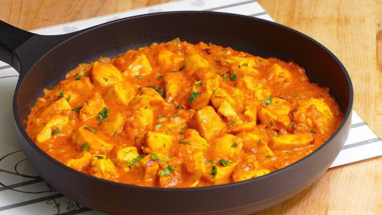 No podrás esperar para comerte esta rica recete de pollo, curry y coco