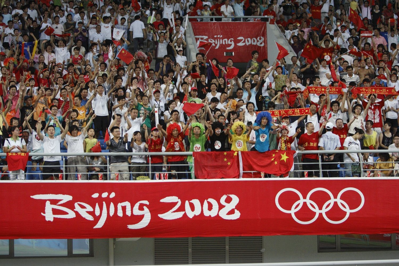 Ante la ausencia de un deporte de masas, los JJOO se viven intensamente en China.