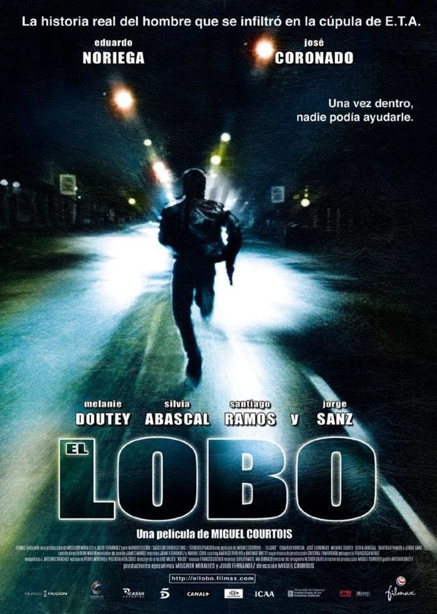 Imagen de la película 'El Lobo'.
