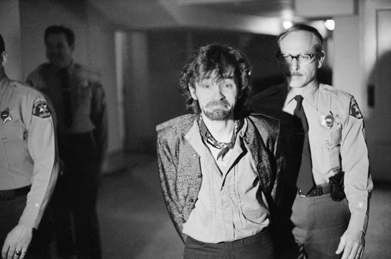Charles Manson demostró ser un psicópata en el juicio.